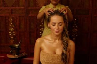 Аюрведический массаж головы